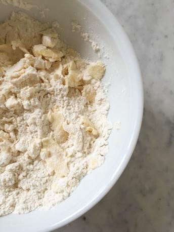 Pear Tart with Hazelnut Frangipane - a bag of flour