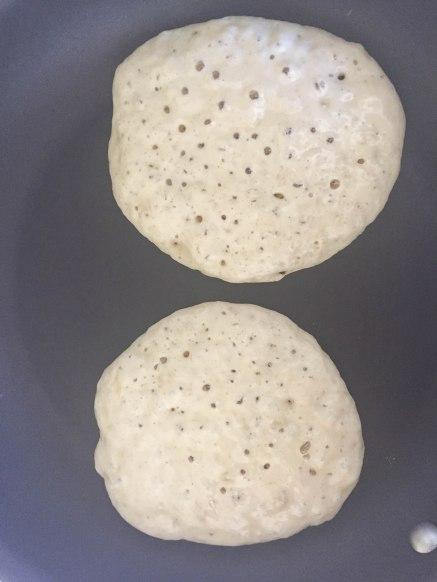 Deliciously Fluffy Banana Pancakes - a bag of flour