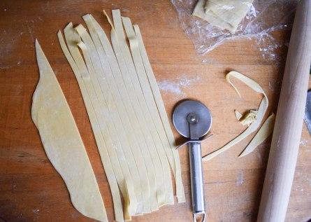 Homemade Fettuccine - abagofflour.com