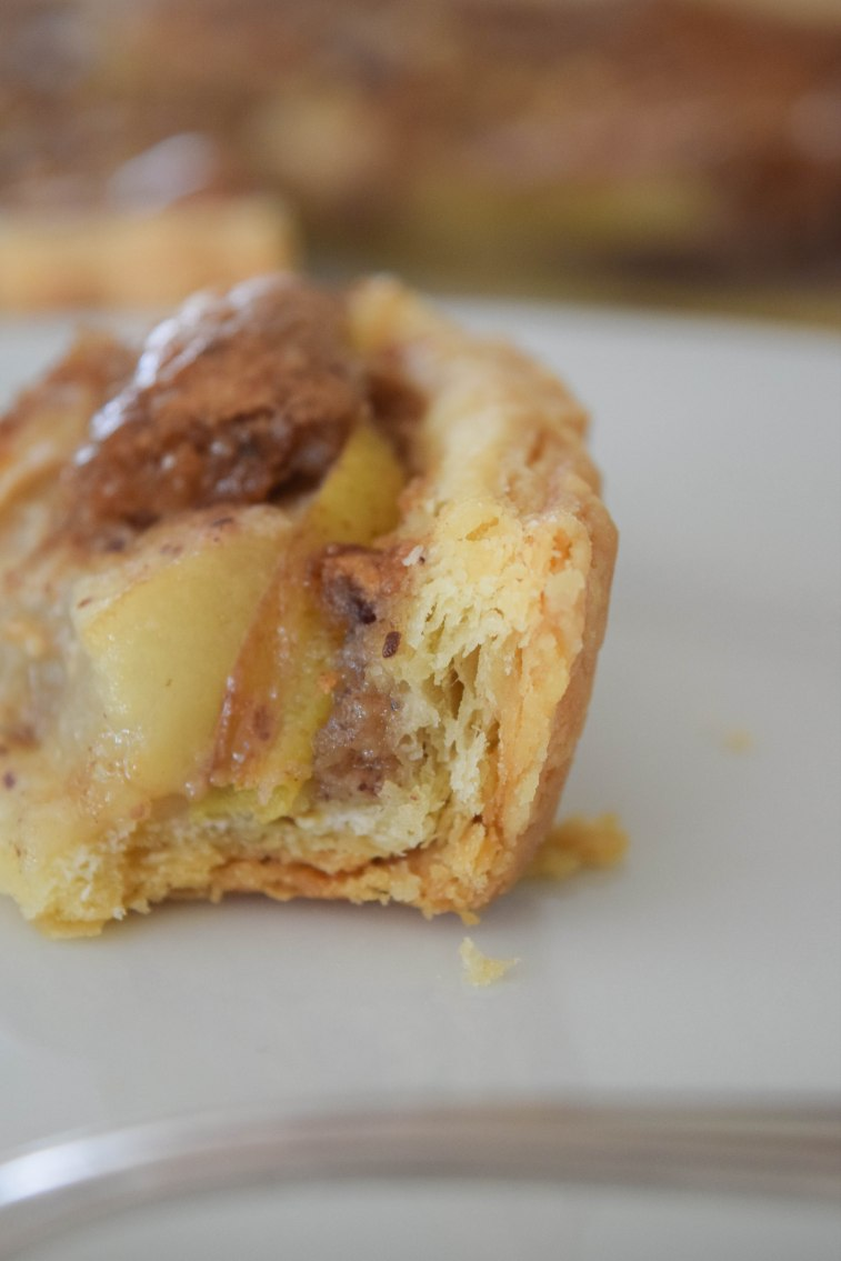 Pear Tart with Hazelnut Frangipane - abagofflour.com
