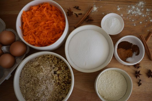 Mini Carrot Cakes with Icing - abagofflour.com