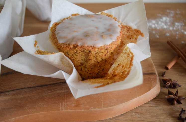 Mini Carrot Cakes with Icing - abagofflour.com-9