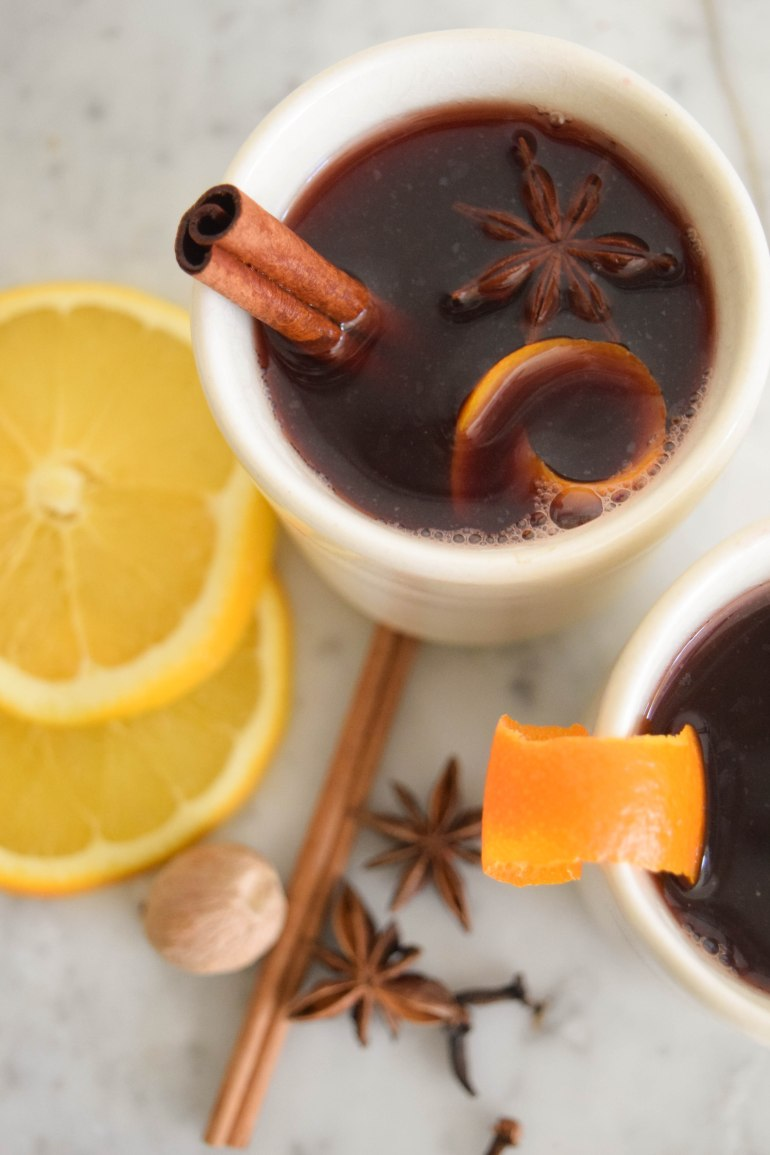 Mulled Red Wine - abagofflour.com