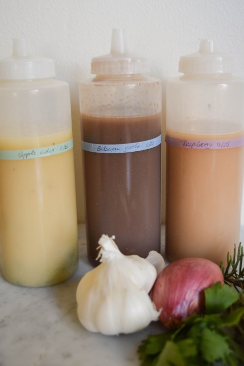 Three Simple Vinaigrettes - abagofflour.com
