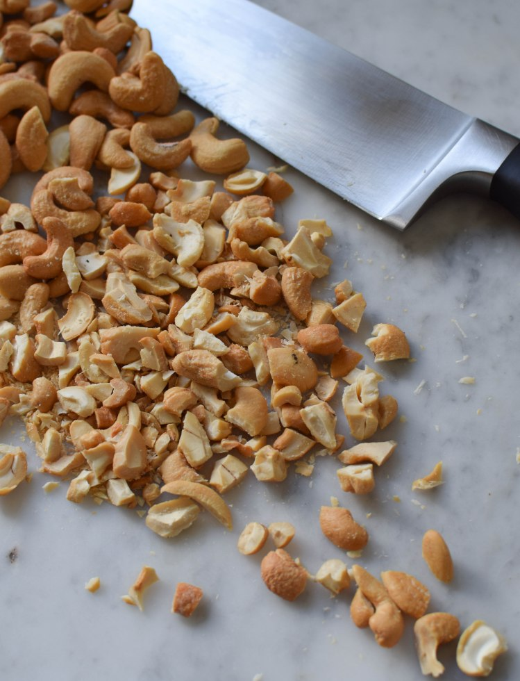 Cashew Toffee Cookies | abagofflour.com