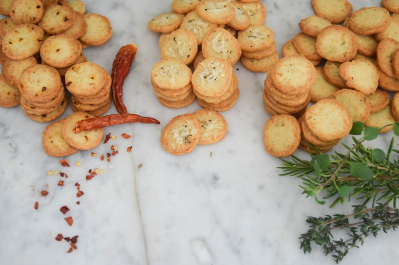 Homemade Parmesan Crackers | abagofflour.com