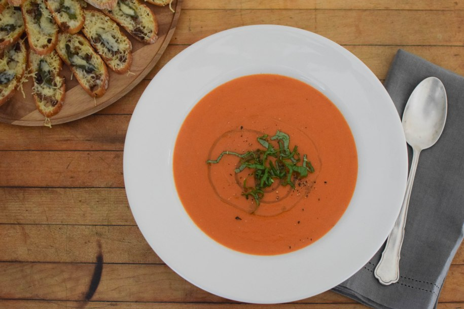 Simple Tomato Soup | abagofflour.com