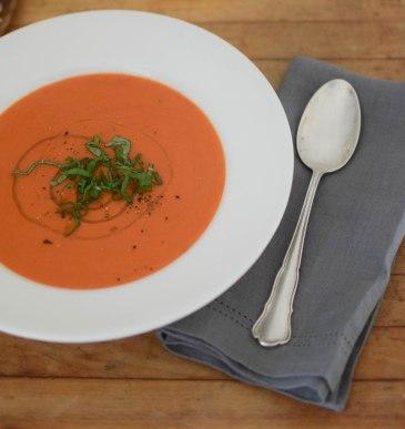Simple Tomato Soup   abagofflour.com