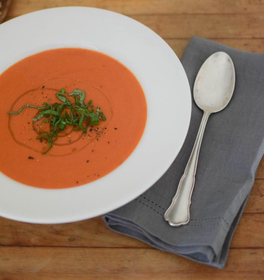 Simple Tomato Soup | abagofflour.com