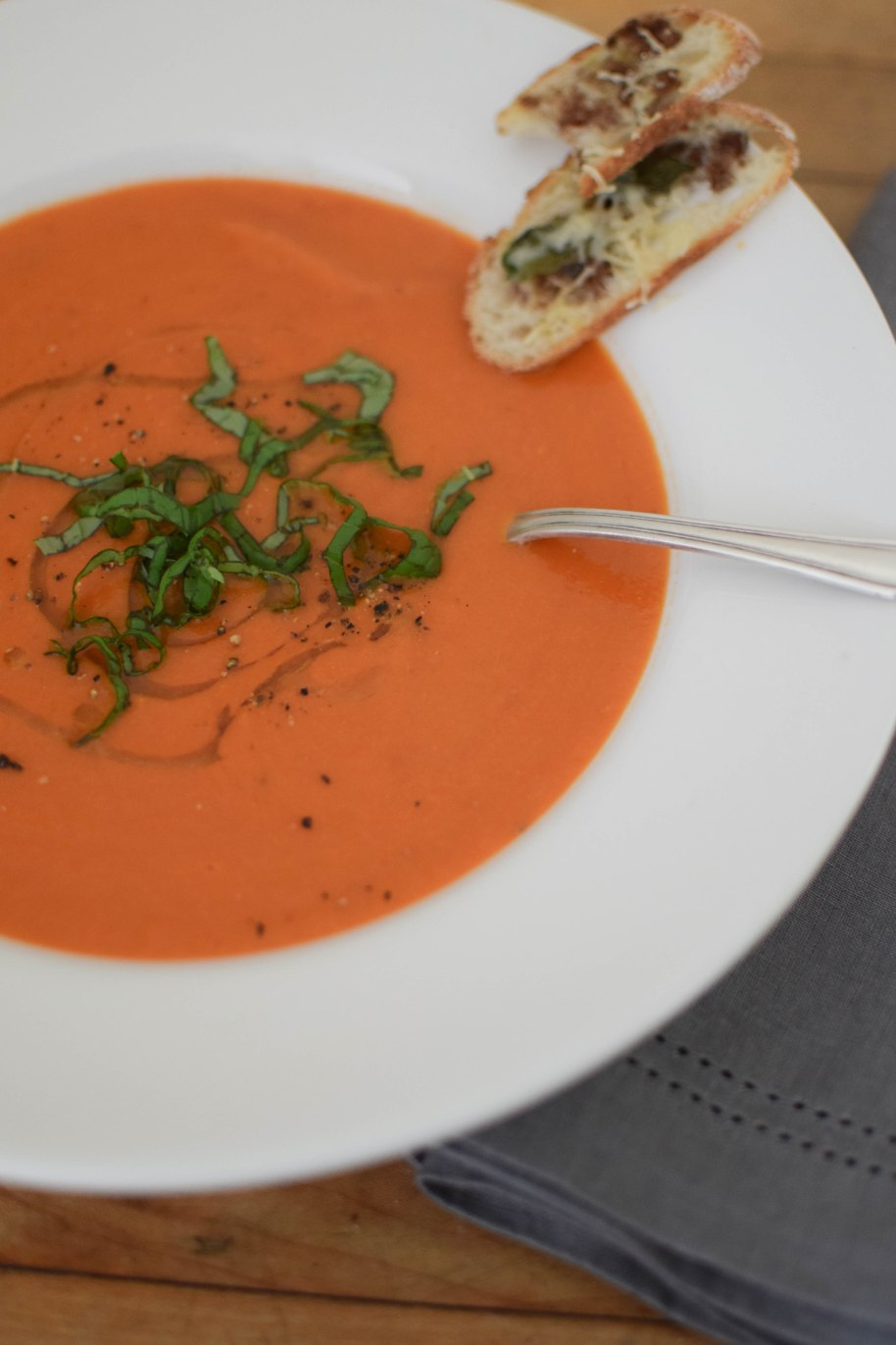 Simple Tomato Soup – a bag of flour